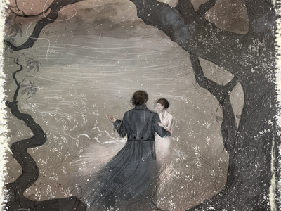 Jane Eyre photoshop digital art jane eyre book tell a story fantasy book illustration bookillustration book art character illustration illustraion art