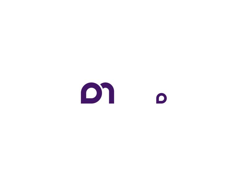 DM logomark logo design icon branding logo