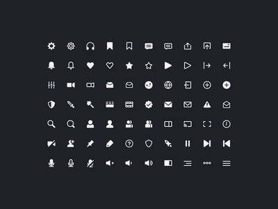 Alticons user icons app icons ui wip icons