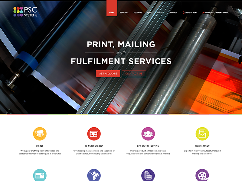PSC Systems services printers wip header