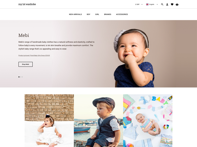 Rebranding ux ui figma ecommerce