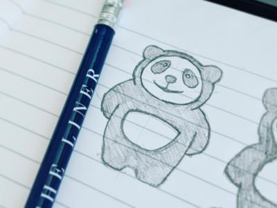 Panda Sketching