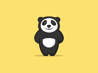 Digital Panda Sketch