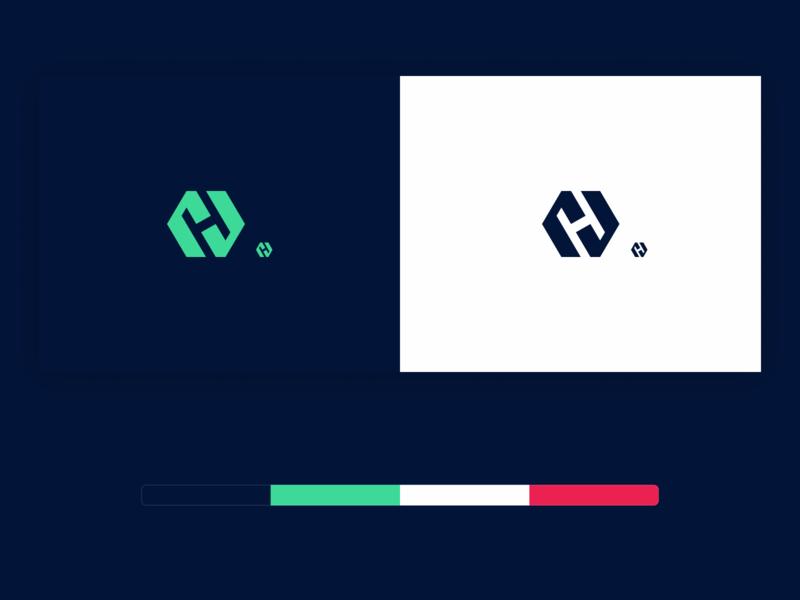 Hectogon hectogon figma icon logomark logo branding