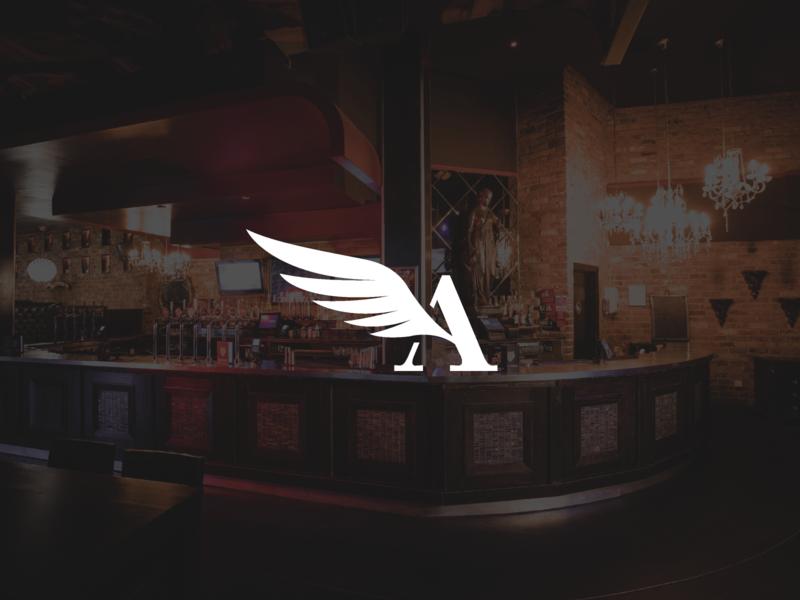 A Wing Logomark logo figma wip branding logomark icon angel wings