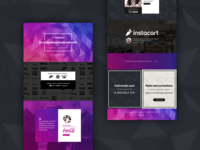 Partnered home landing page