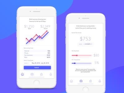 Savings Tracker App
