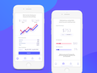 Savings Tracker App