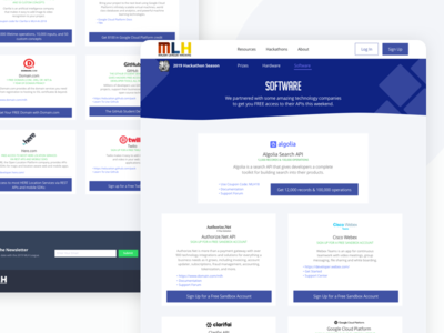Software Web Page