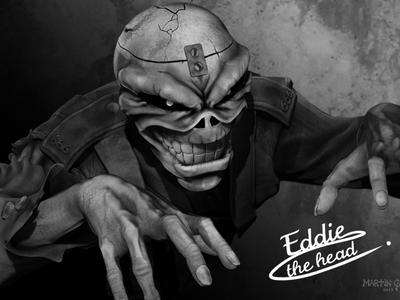 Iron Maiden - Eddie the head
