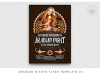 Arabian Nights Flyer Template V2