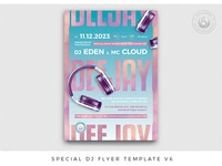 Special Dj Flyer Template V6