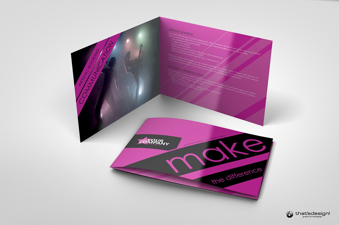 Ip a5 8 pages event and artstic brochure 1