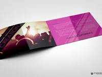 Ip a5 8 pages event and artstic brochure 3