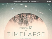 04 free time lapse flyer template