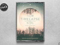 06 free time lapse flyer template