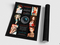 02 Photography Workshop Flyer Template; 03 Photography Workshop Flyer  Template ...