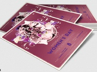04 womens day flyer template