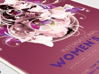 06 womens day flyer template