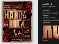 02 hard rock flyer template v1