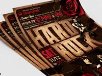 05 hard rock flyer template v1