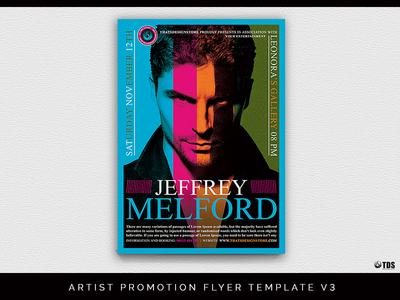 Artist Promotion Flyer Template V3