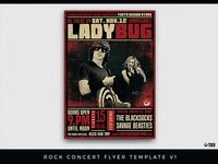 Rock Concert Flyer Template V1
