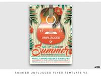 Summer Unplugged Flyer Template V2