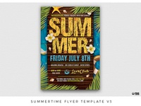 Summertime Flyer Template V3
