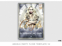 Angels Party Flyer Template V2
