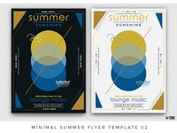 Minimal Summer Flyer Template V2