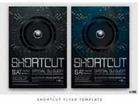 Shortcut Flyer Template