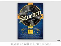 Sounds of Sweden Flyer Template