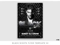 Black Nights Flyer Template V2