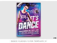 Dance Classes Flyer Template V1