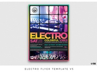 Electro Flyer Template V5