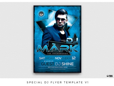 Special Dj Flyer Template V1