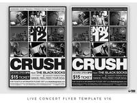 Live Concert Flyer Template V16