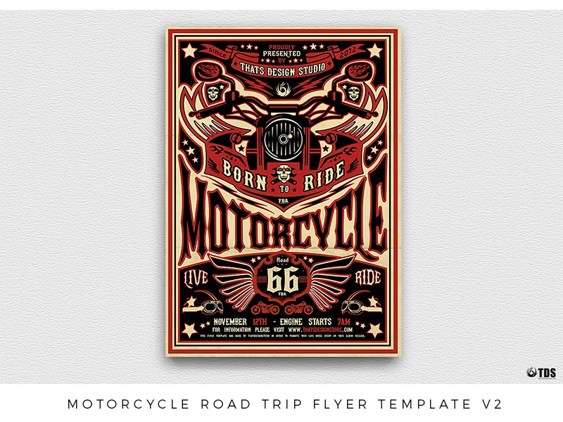 Motorcycle Graphics Templates