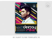 DJ Guest Flyer Template V5