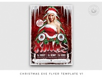 Christmas Eve Flyer Template V1