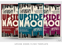 Upside Down Flyer Template
