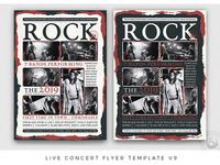 Live Concert Flyer Template V9