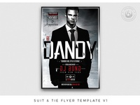 Suit and Tie Flyer Template V1