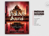 01 indian sound flyer template