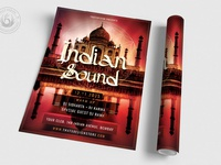 03 indian sound flyer template
