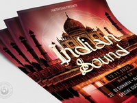 05 indian sound flyer template