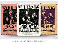 Live Concert Flyer Template V7