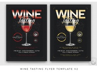Wine Tasting Flyer Template V2