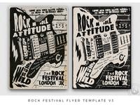 Rock Festival Flyer Template V3